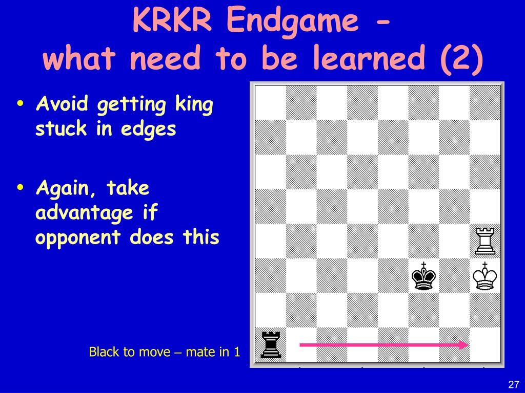 KRKR Endgame -