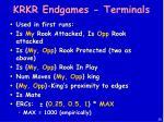 krkr endgames terminals