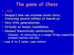 the game of chess5