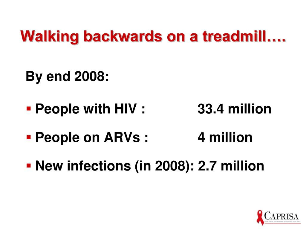 Walking backwards on a treadmill….