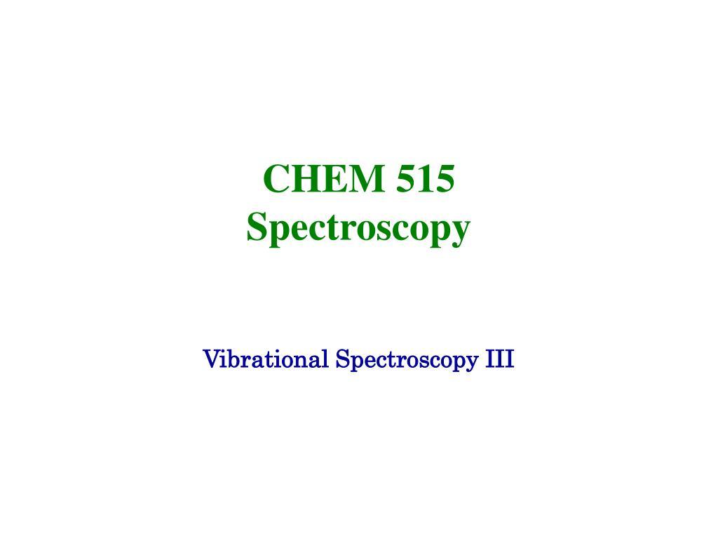 CHEM 515