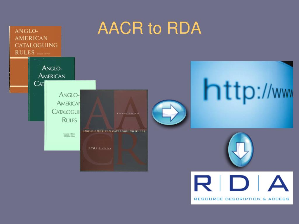 AACR to RDA