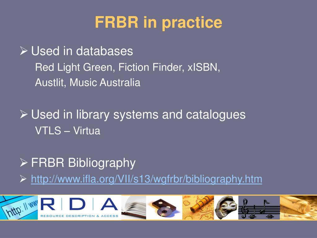 FRBR in practice
