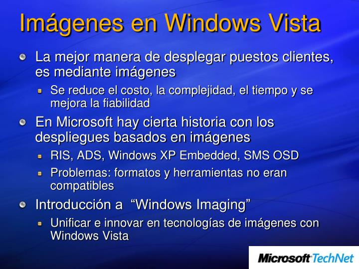 Im genes en windows vista