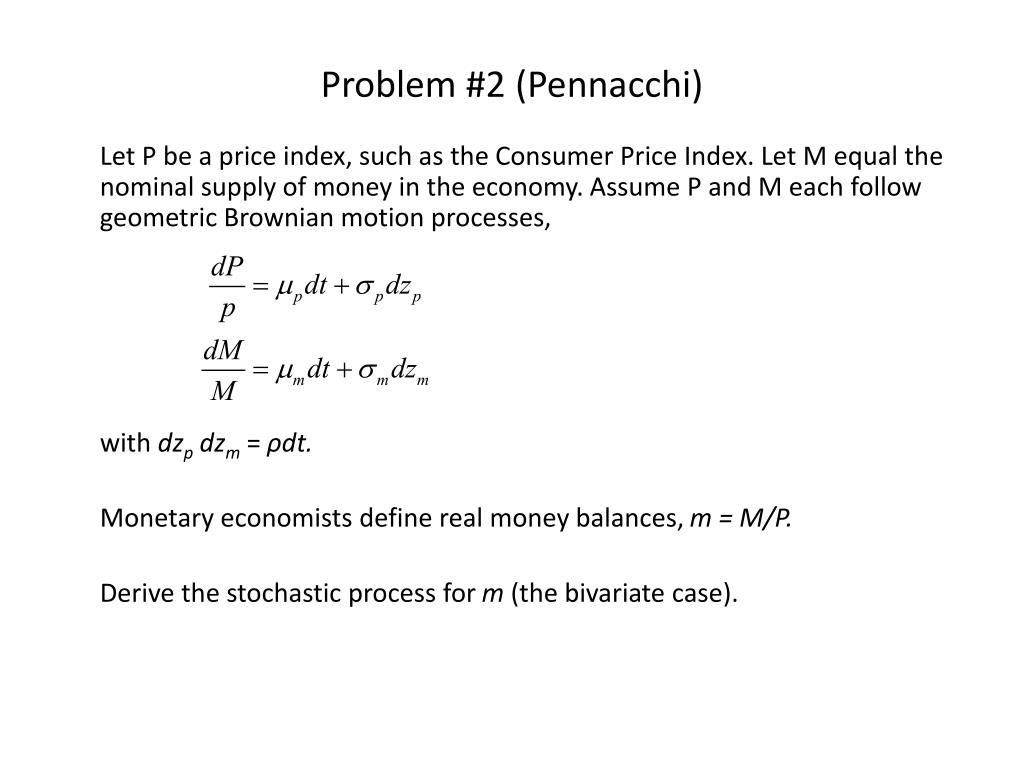 Problem #2 (Pennacchi)