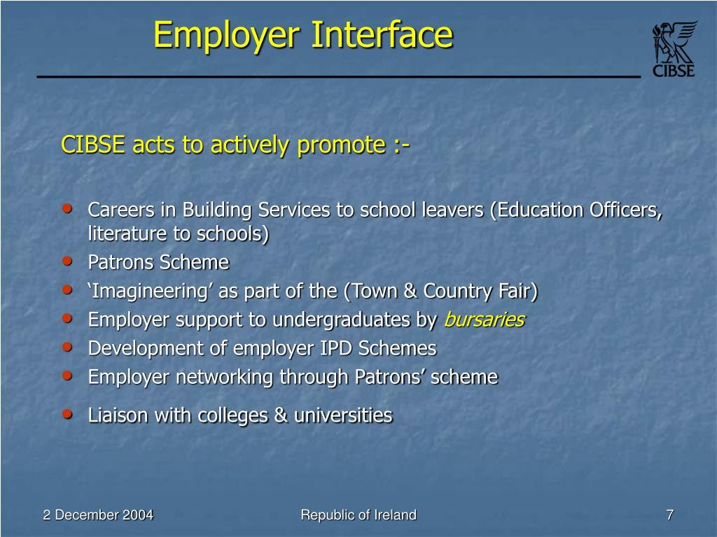 Employer Interface