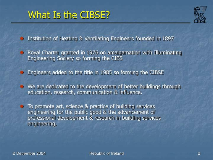 What is the cibse l.jpg