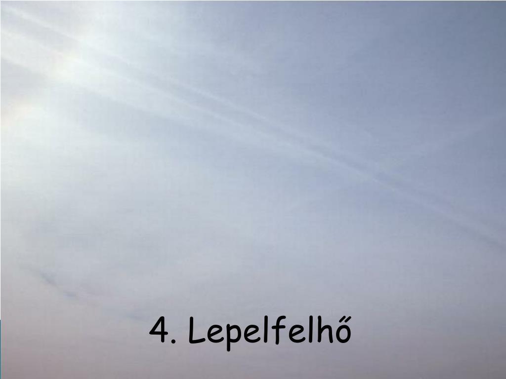 4. Lepelfelhő