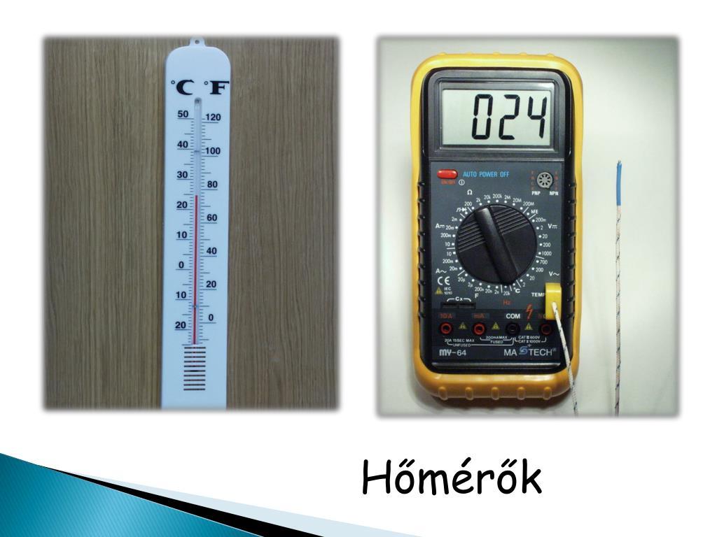 Hőmérők
