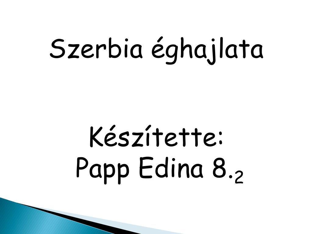 Szerbia éghajlata