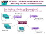 cumulvs collaborative infrastructure for interacting with scientific simulations