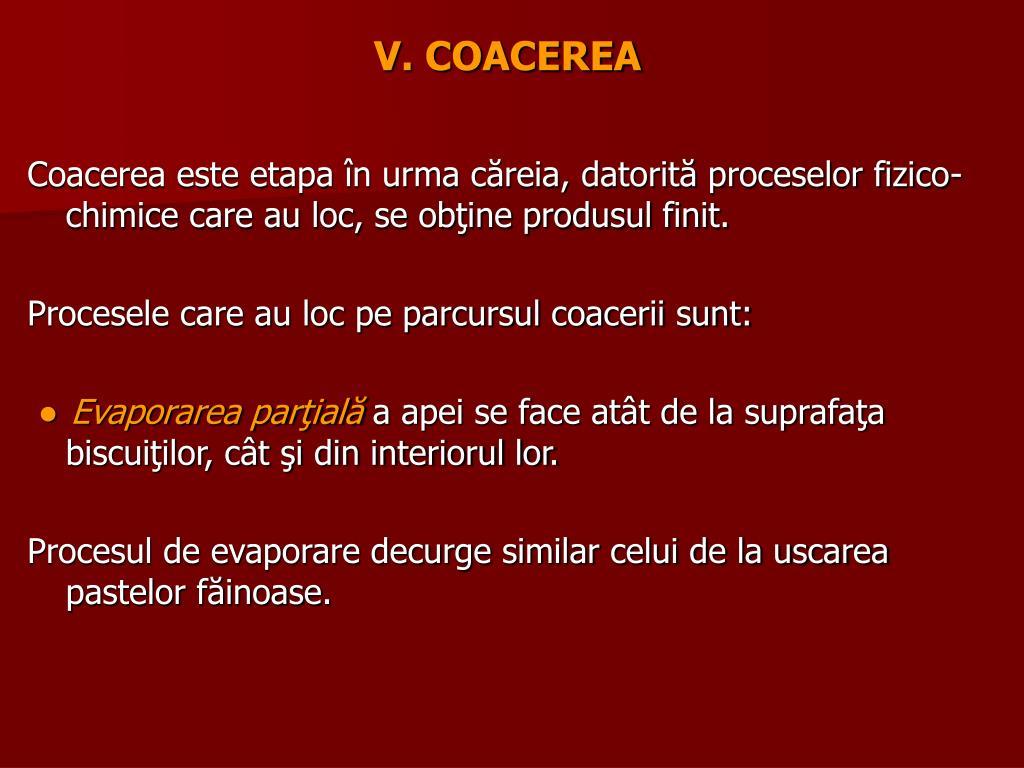 V. COACEREA