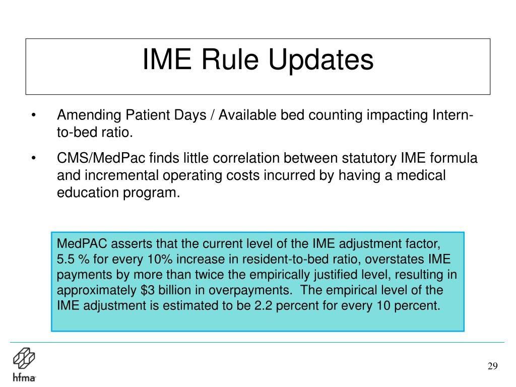 IME Rule Updates