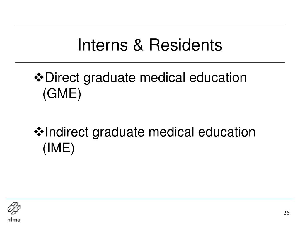 Interns & Residents