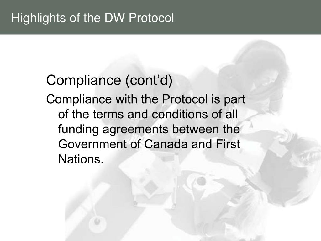 Highlights of the DW Protocol