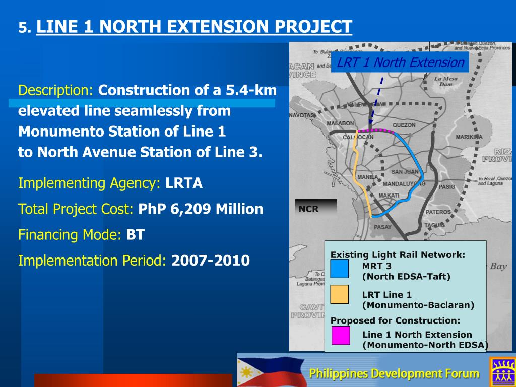LRT 1 North Extension
