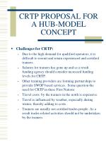 crtp proposal for a hub model concept10