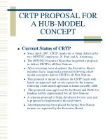 crtp proposal for a hub model concept3