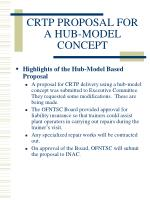 crtp proposal for a hub model concept4