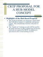 crtp proposal for a hub model concept6