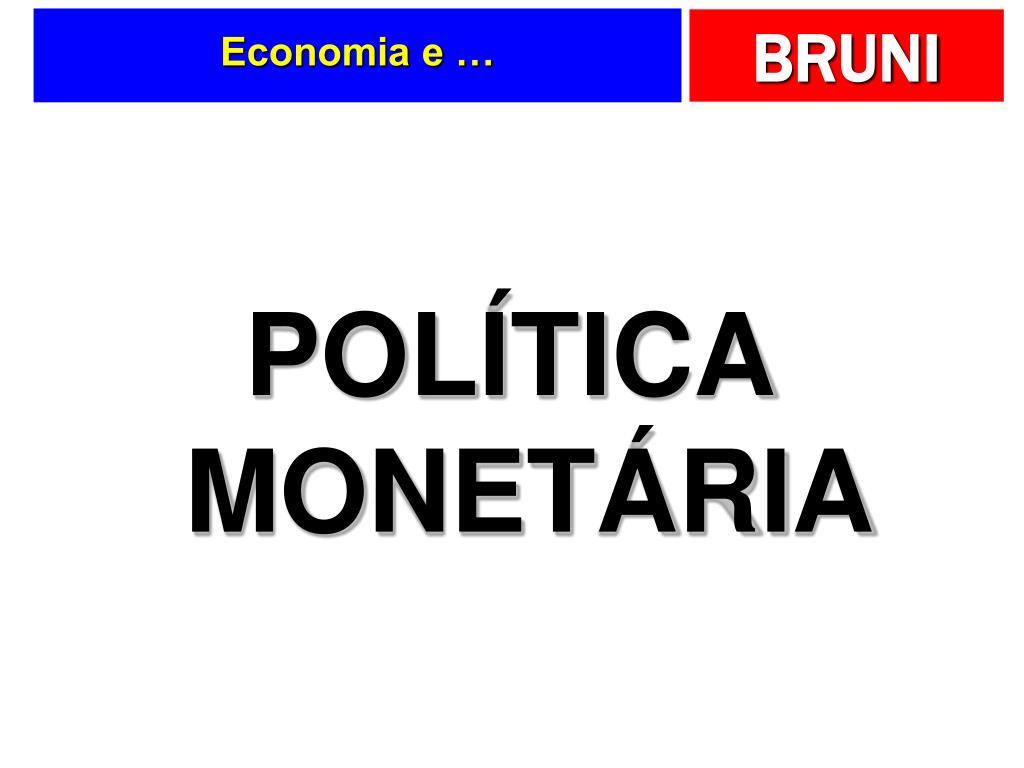 Economia e …