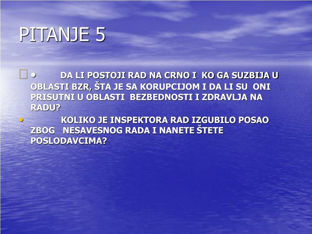 PITANJE 5