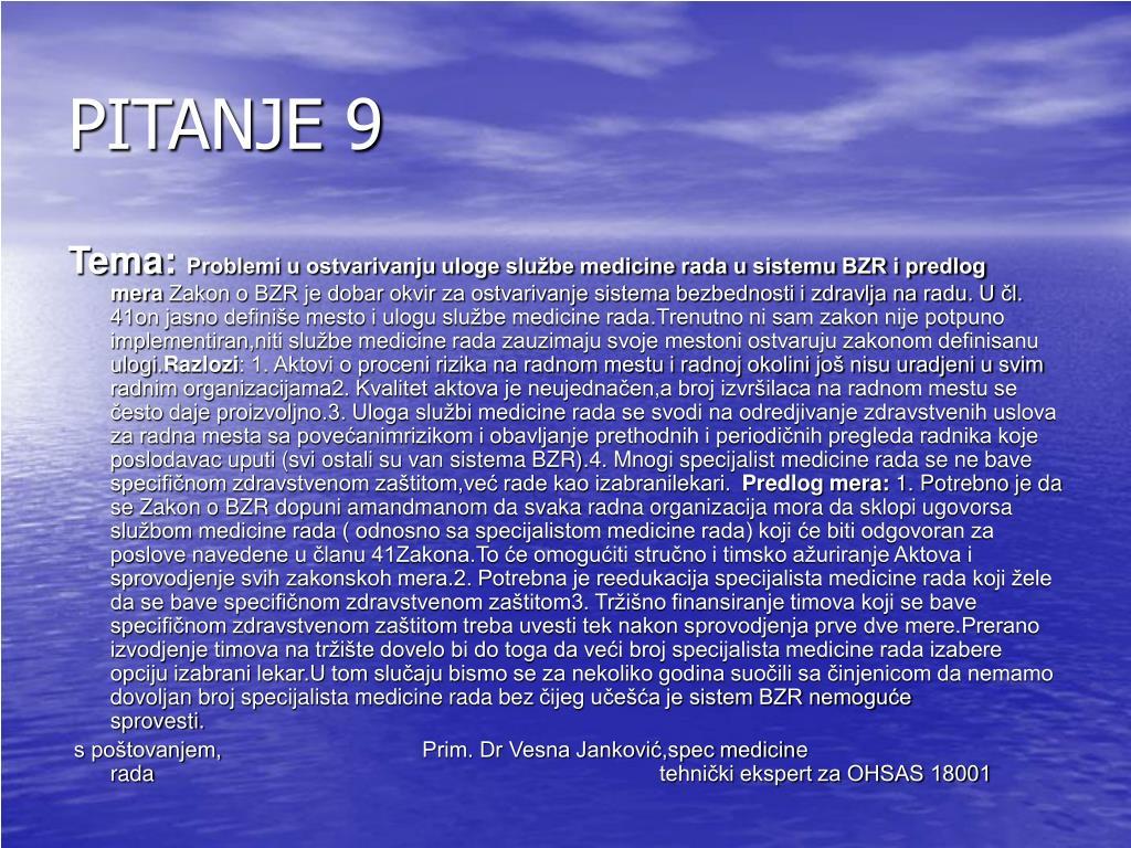 PITANJE 9