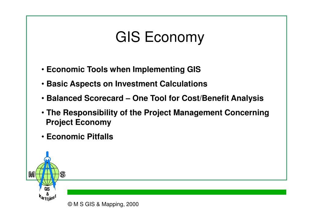 GIS Economy