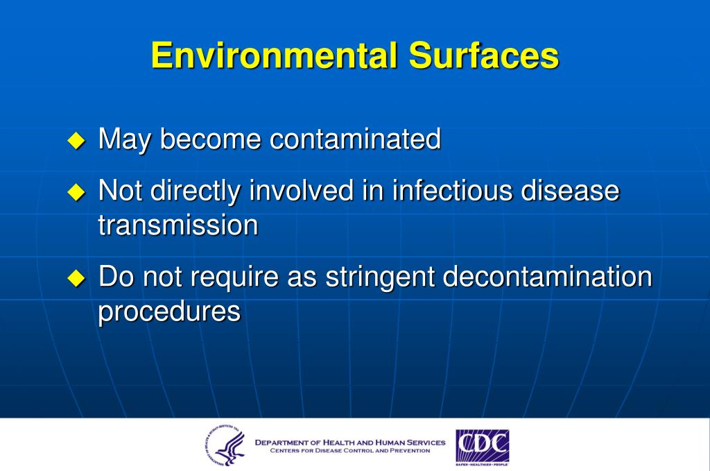 Environmental Surfaces