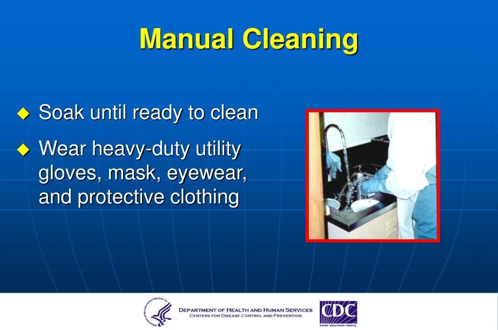 Manual Cleaning