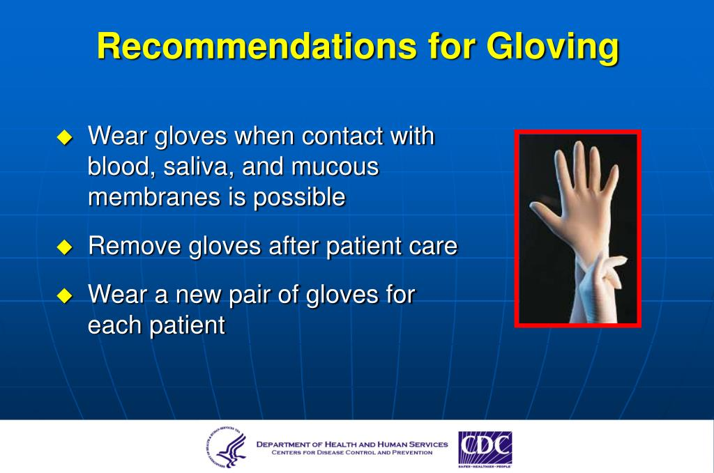Recommendations for Gloving