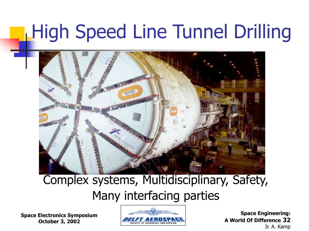 High Speed Line Tunnel Drilling
