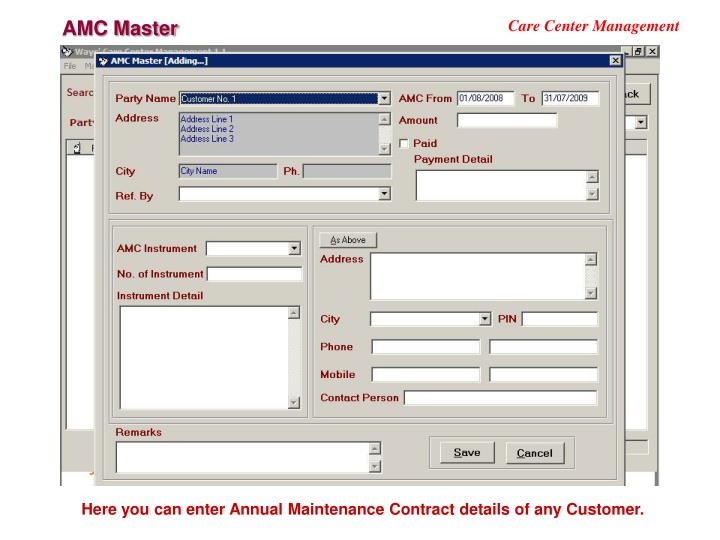 AMC Master