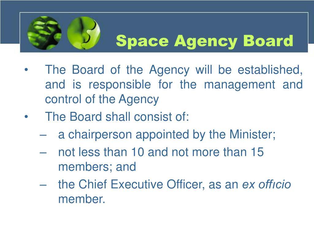Space Agency Board