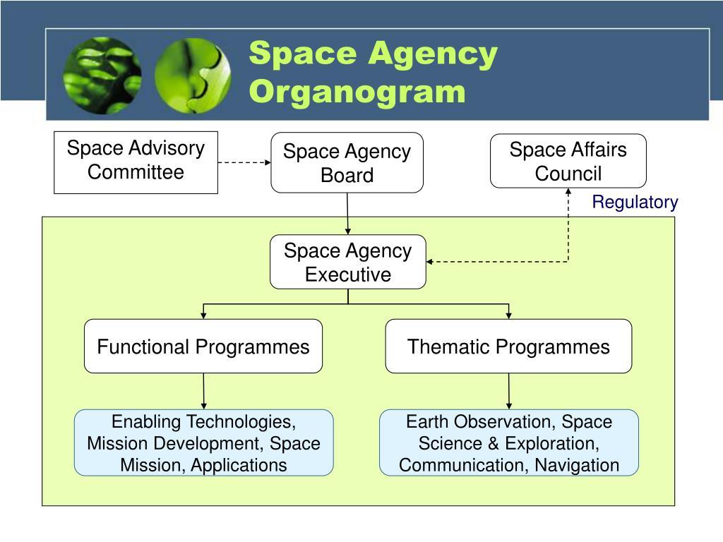 Space Agency Organogram