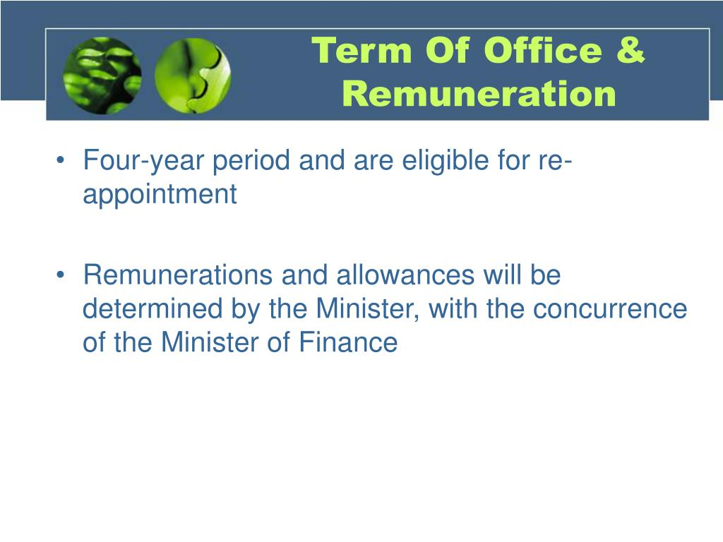 Term Of Office & Remuneration