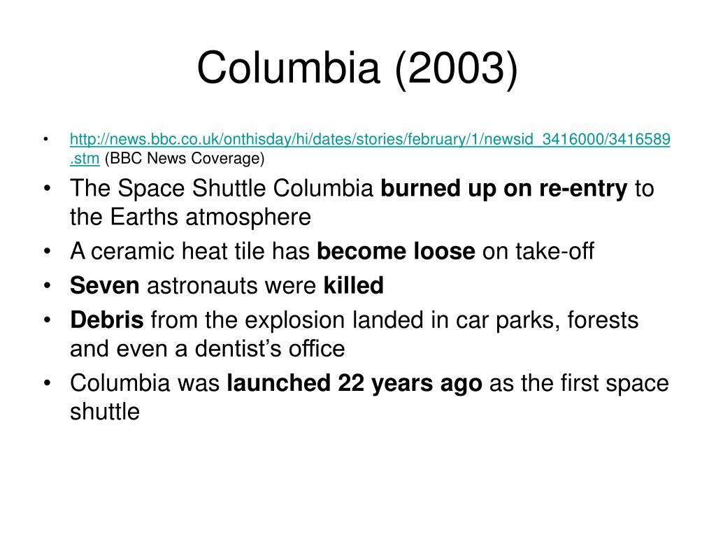 Columbia (2003)