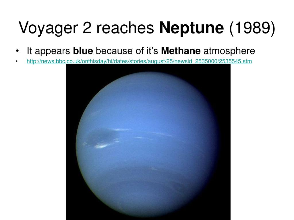 Voyager 2 reaches