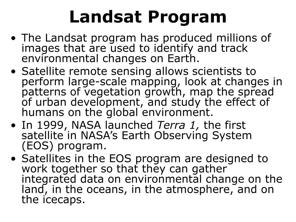 Landsat Program