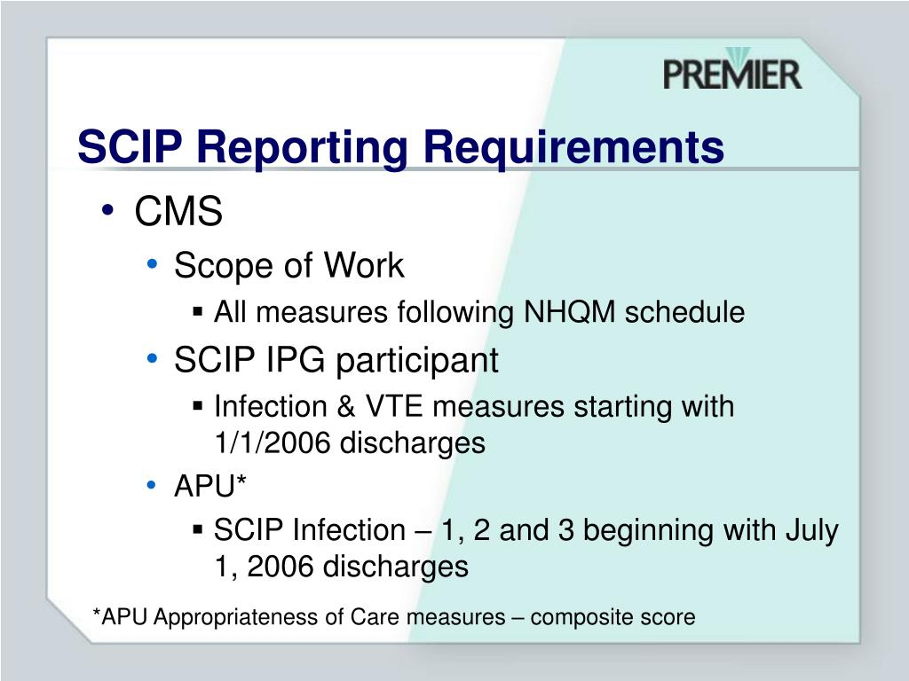 surgical care improvement project Fifty-two (981%) of the 53 patients met 1 or both surgical care improvement  project criteria for normothermia improved metrics are needed to.