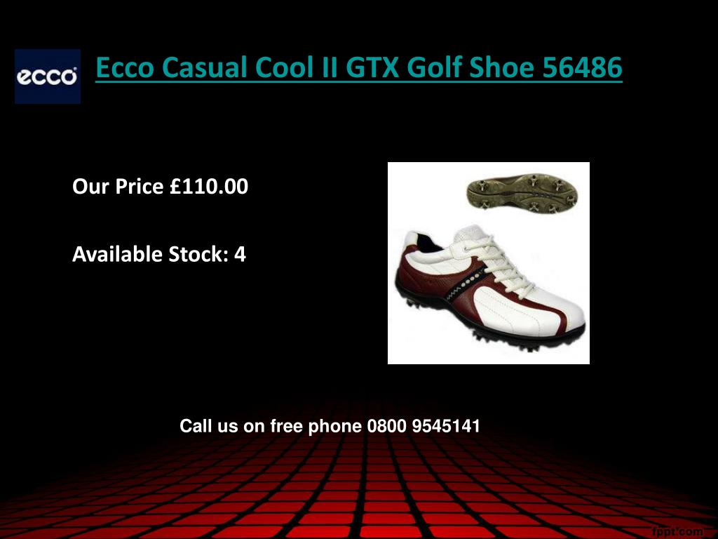 Ecco Casual Cool II GTX Golf Shoe 56486