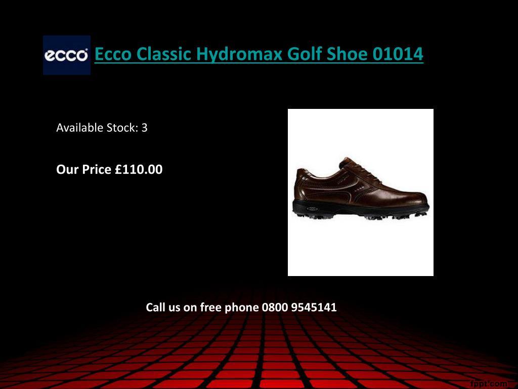 Ecco Classic Hydromax Golf Shoe 01014