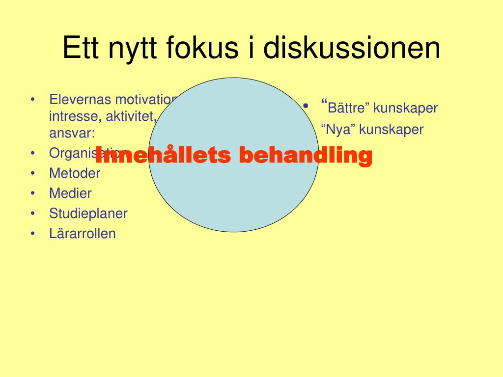 Elevernas motivation, intresse, aktivitet, ansvar: