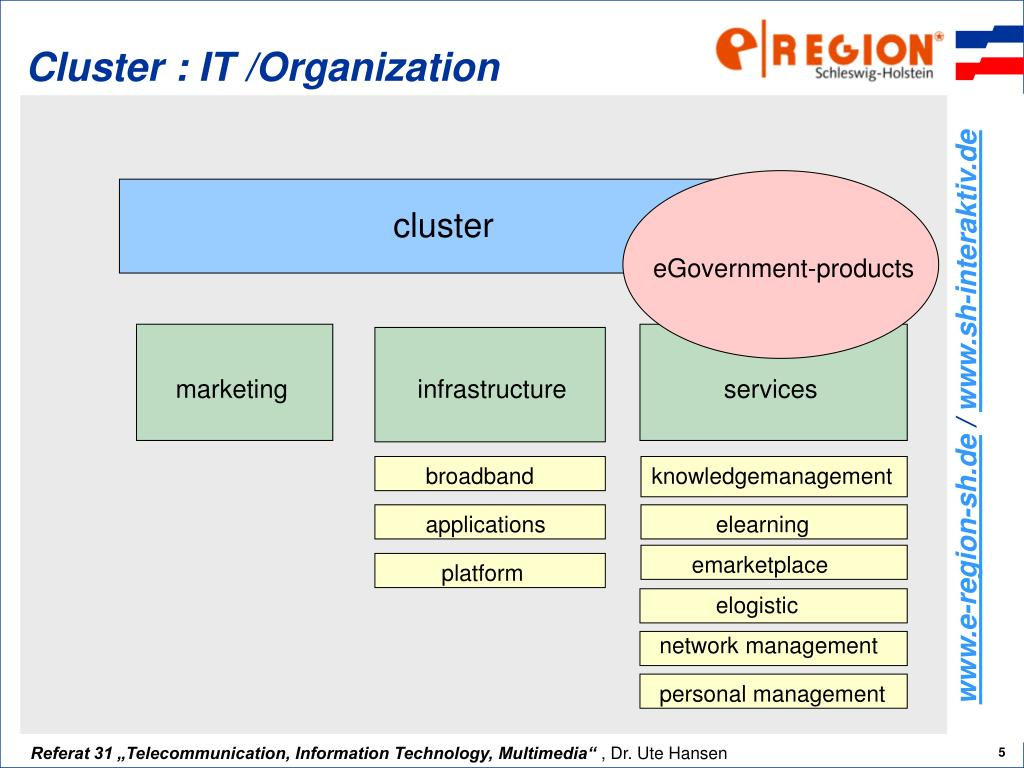 Cluster : IT /Organization