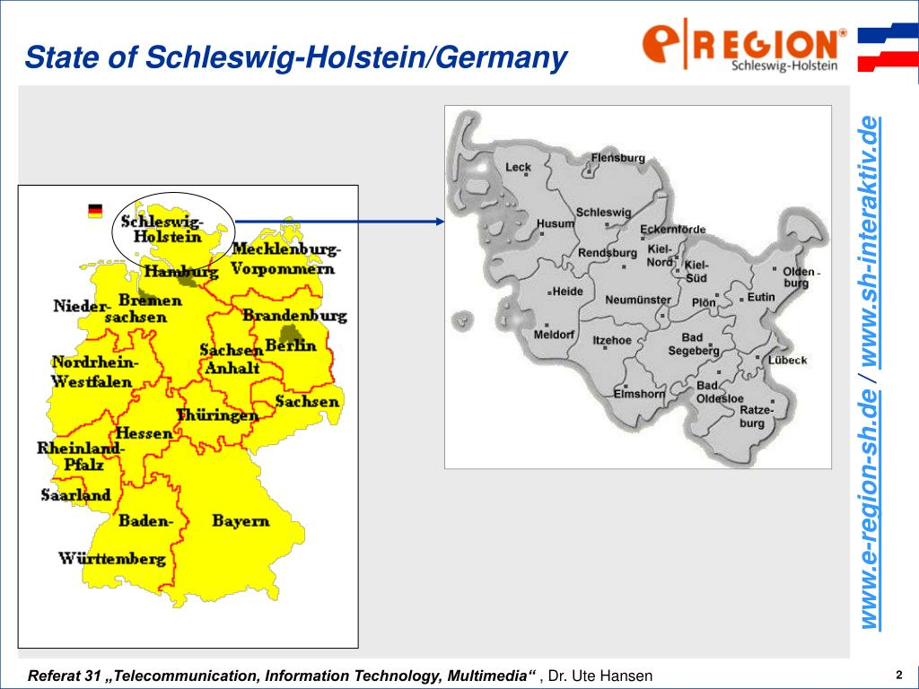 State of Schleswig-Holstein/Germany