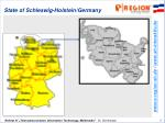 state of schleswig holstein germany