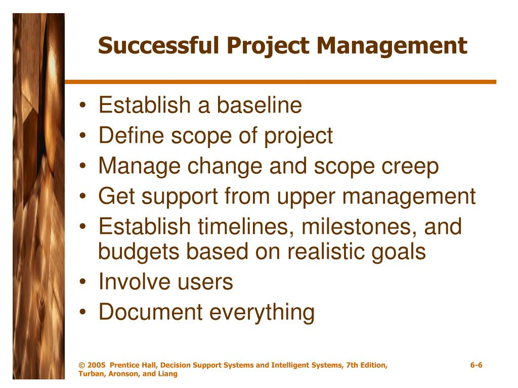 resource management system for successful project The project management institute defines project management as the application of knowledge, skills, tools, and techniques to project activities to meet project requirements (pmbok guide, 3rd edition, project management.
