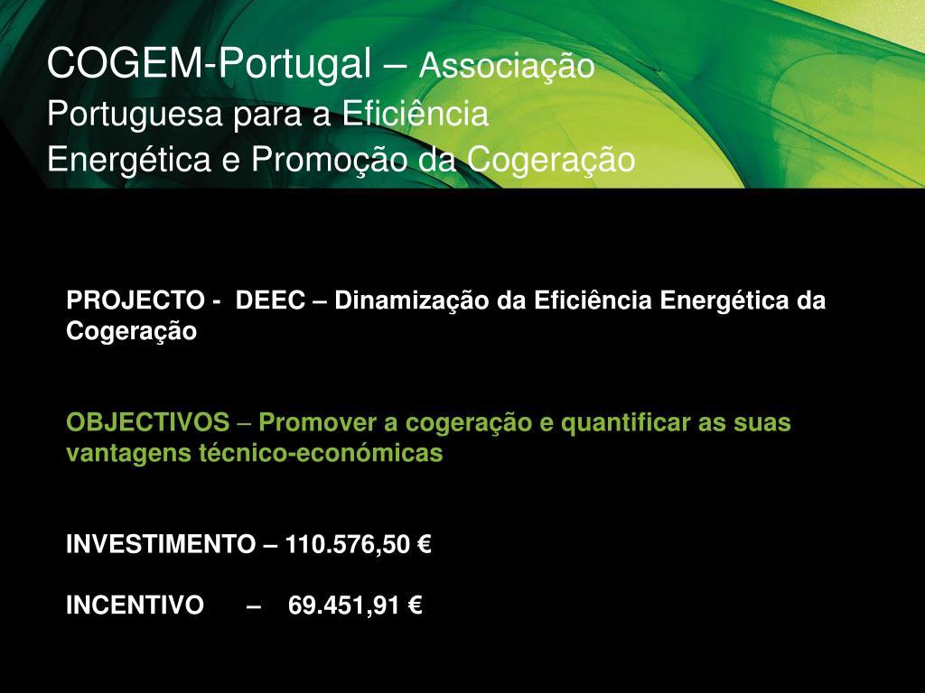COGEM-Portugal –