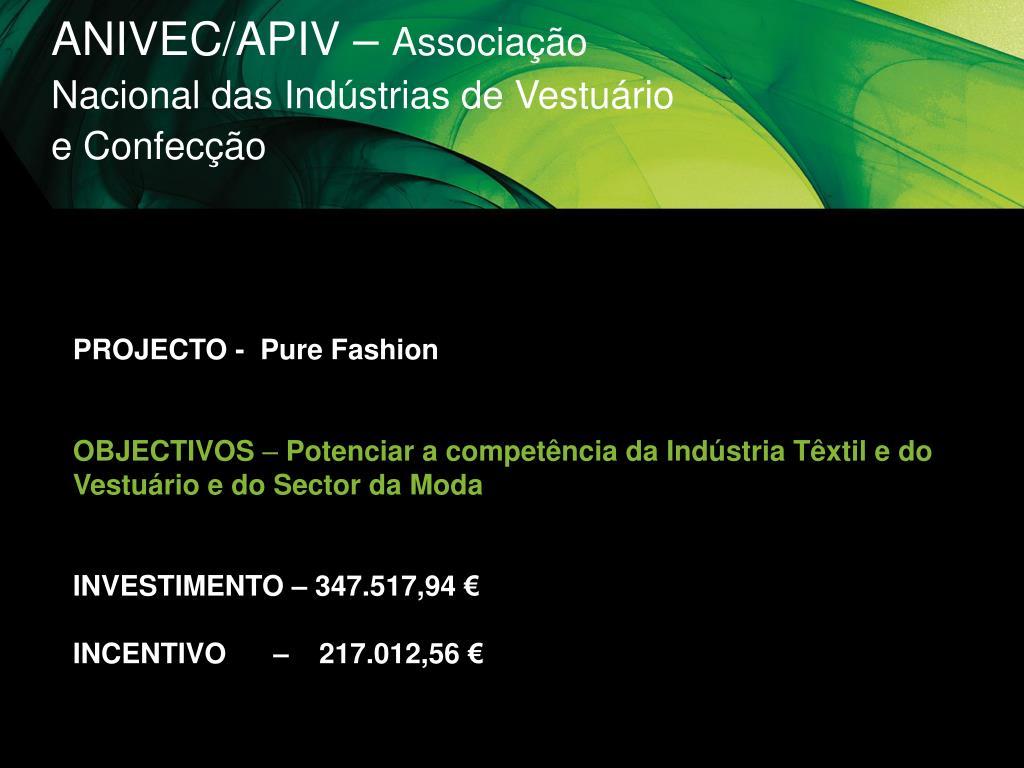 ANIVEC/APIV –
