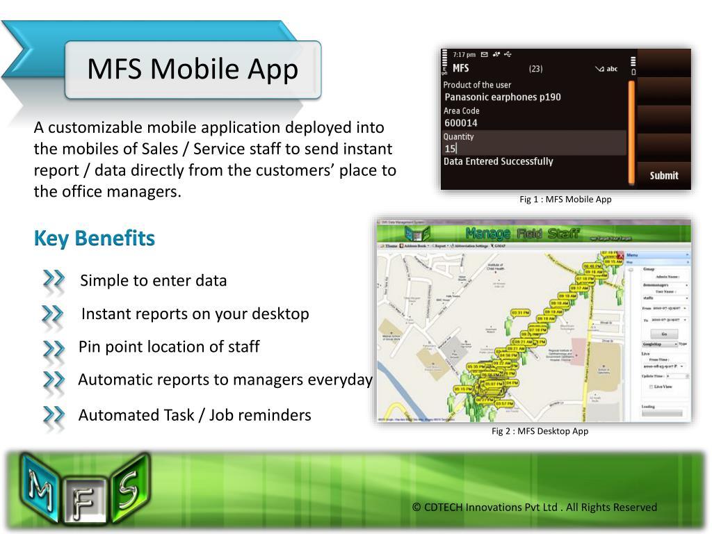MFS Mobile App